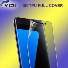 3D Anti Shock Screen Portector For Samsung S4, Full Cover Self Healing TPU Screen Protector For Samsung S4//