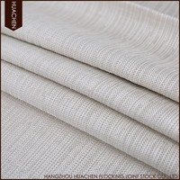 New model design wholesale hotel 100% polyester linen look blackout fabric