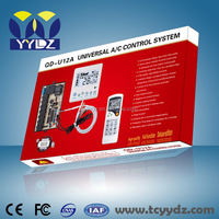 named air conditioner spare parts universal pcb controller board U12A auto start and two relays under celing pcb