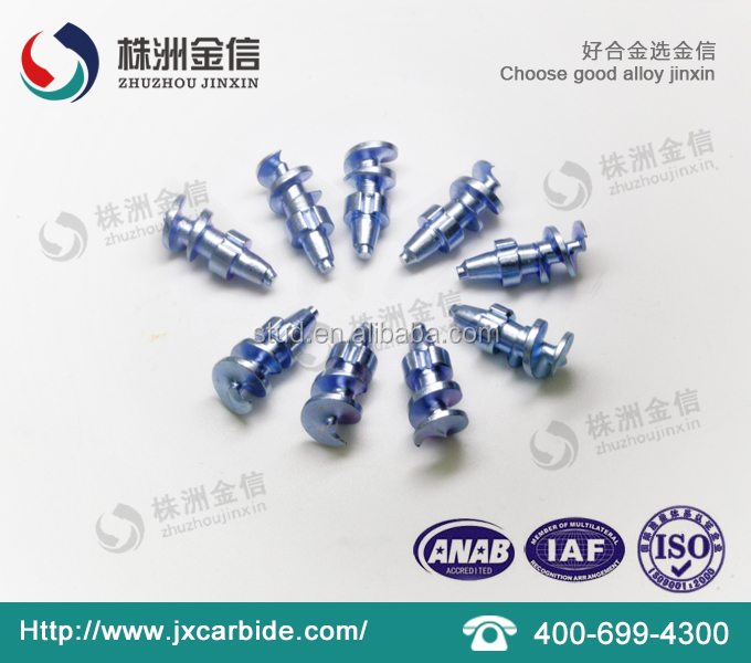 Anti slip Screw Steer Tire Studs for automobiles