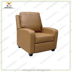 WorkWell most popular PU luxury leather model sofa Kw-Fu21a