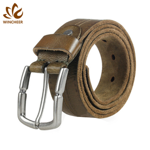 Manufacturers new hot famous vintage mens customized leather fashion belt