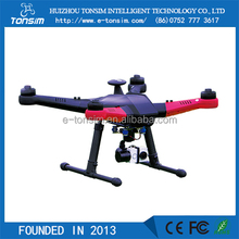 2016 big size rc airplanes plastic model gps quadcopter drone with 4k camera