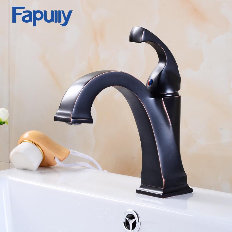 Best Basin Tap Push Down Faucet Tap Oil Rubbed Bronze Bathroom Taps ...