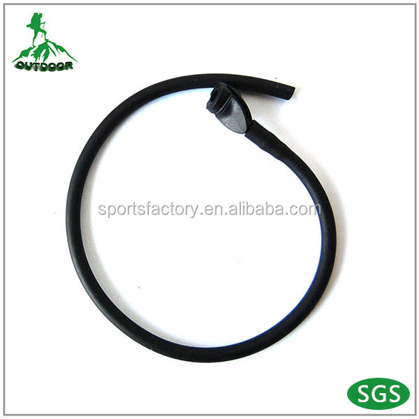 "Archery with Silicone rubber tubing, 1/8"" hole size Peep sight"