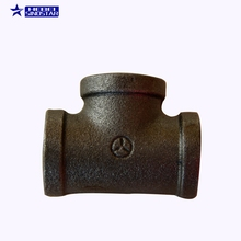 Socket Weld Reducing Pipe Easy Branch High Pressure Black Malleable Iron Y Pipe Connector Steel fittings cast tee