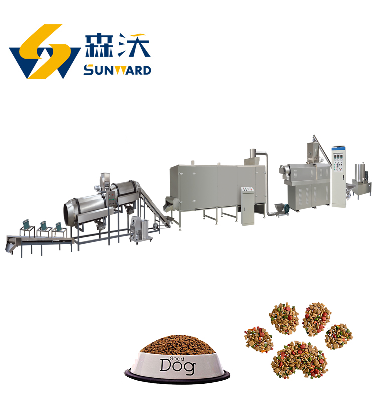 Good quality china Pet dog cat fox Fish food making machine High quality dog food making machine pet food processing equipment