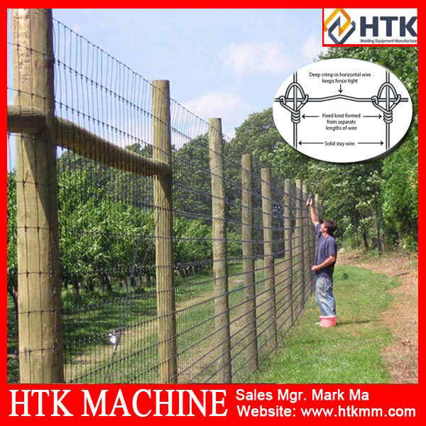 96inch heights Fixed Knot Woven Wire Fence,livestock fencing,Wildlife Fencing