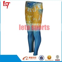 women tight yoga sports fitness pants Women Athletic Sublimation Yoga Pants Elastic Quality Gym Wear Sublimation Yoga Pants