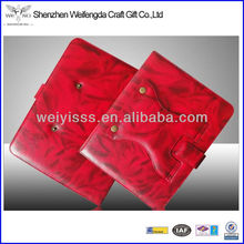 2014 Red Fashion Leather Ipad Case New Design Stand Up Leather Case For Apple Ipad