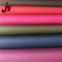 Wholesale upholstery 100% polyester fabric Oxford 600D PVC Coated Bags luggage Fabric