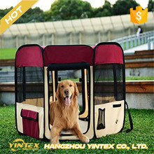 Waterproof Exercise dog tent Oxford Fabric Portable Pet Playpen Kennel