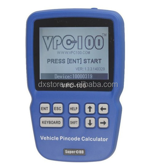 Immo Code VPC-100 Vehicle PinCode Calculator/immobilizer pin code calculator