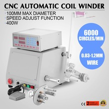 400W New Cnc Automatic Micro-Computer Controlled Winder Coil Winding Machine