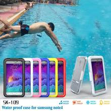 Waterproof Sealed Underwater Diving Clear Case Cover For Samsung Galaxy Note 4