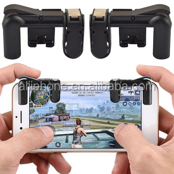 Mobile Game Fire Button Aim Key Smart Phone Game PUBG Gaming Trigger Controller