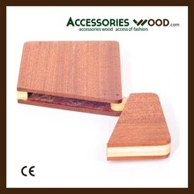 Promotion cheap Business Card holder Wood case from CHINA