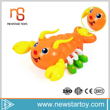 Kid toy electric miniature good quality newest plastic toy lobster for sale