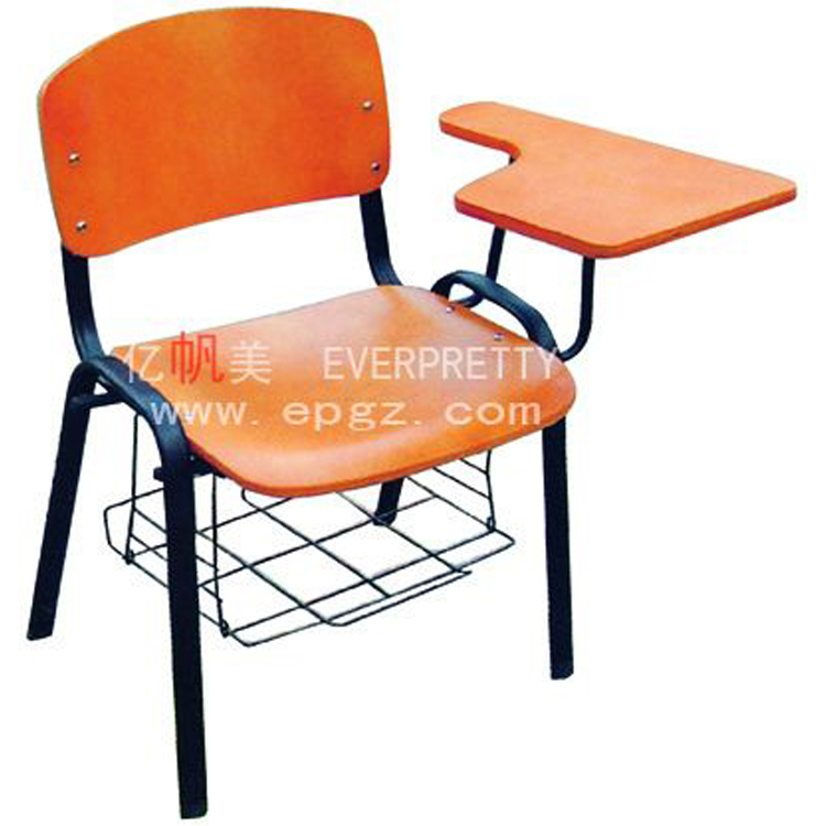 high quality modern university student sketching chair with writing pad