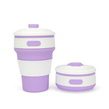 12 oz 350ml Collapsible Travel Cup Silicone Mug Collapsible Coffee Mugs