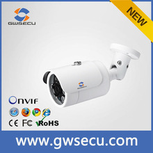 Outdoor Bullet Onvif P2p Ip Camera H.264 P2P Ip Camera Support Phone App