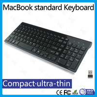 newest slim 2.4g wireless keyboard for laptop with numeric key