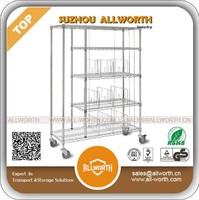 Customized Movable Closet Wire Shelving