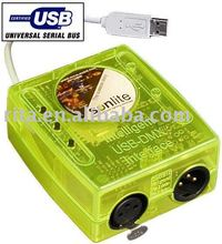 USB-DMX512 Main Controller;can controlled by PC