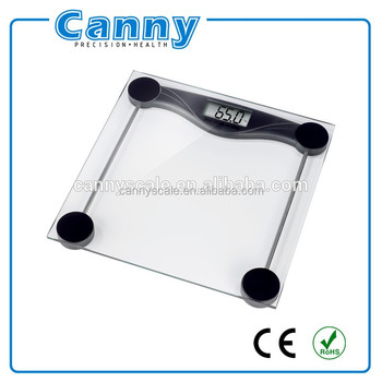 Clear tempered glass Hot Sale Digital Human Weight Scale