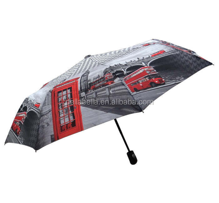 UV Protection 3 Fold Cheap Outdoor Inverted Automatic Umbrella