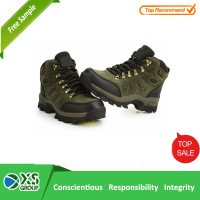 Anti-Puncture PU Injection Split Embossed good prices safety shoes