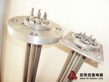 immersion tank flange heater