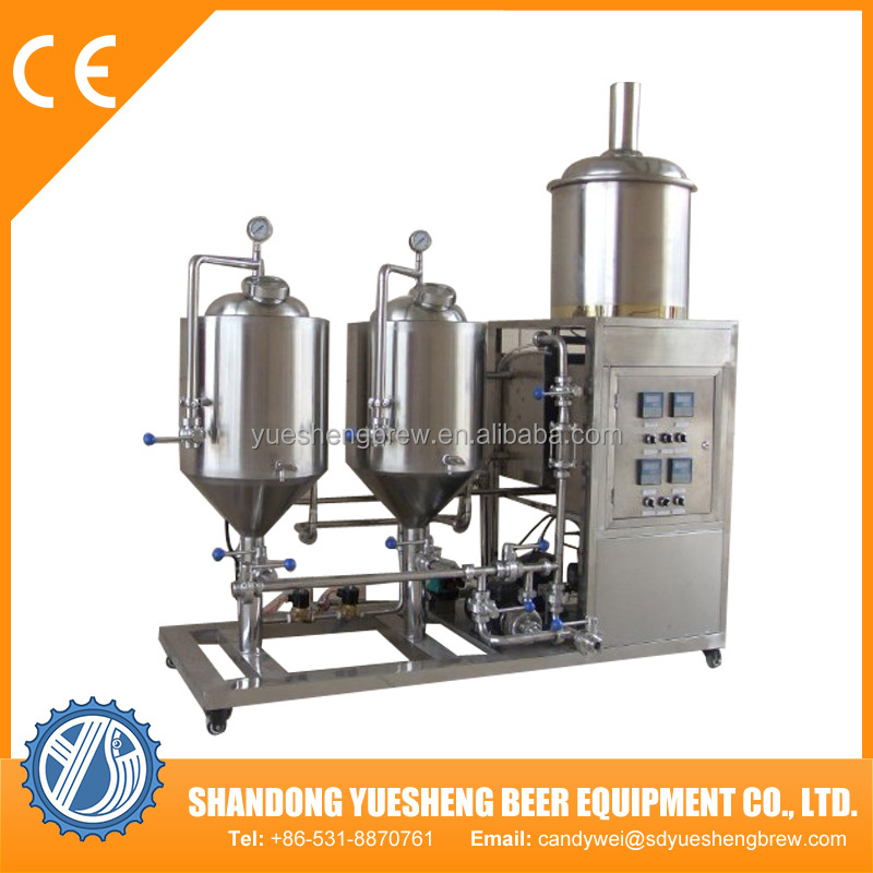 Hot Sale Home Brewing Equipment 50l Beer Making Machine
