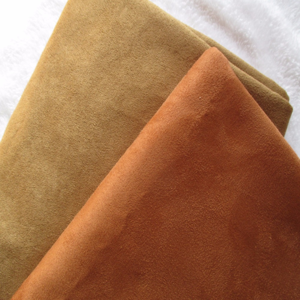 Free Sample Polyester Faux Leather Micro Suede Fabric