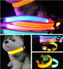 Adjustable Pet Dog Cat Waterproof LED Light Flash Night Safety Collar USB rechargeable led dog collar