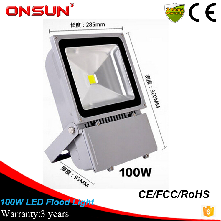 wholesale high quality outdoor led flood light 100w