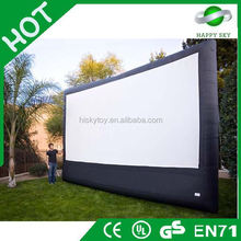 Hot sale cheap inflatable air screen, inflatable family movie screen for sale, external screen for sale