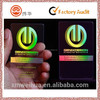 2015 transparent security 3d business card
