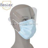 Disposable Face Mask With Shield In