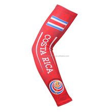 Costa Rica World Cup Protective Sports Cool Tattoo Knitted Arm Sleeves