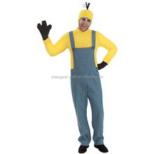 Factory hot sale adult minion costume