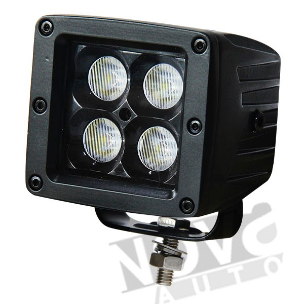 Auto Replacement LED Pod Light 3D Optics Black Series 2'' Small Pod Light