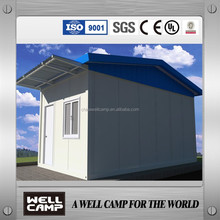 Wellcamp Hot Sale Cabin Prefabricated Container Houses Light Steel Container Houses