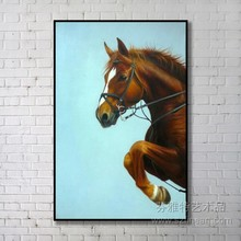 Hand made decoration famous horse paintings