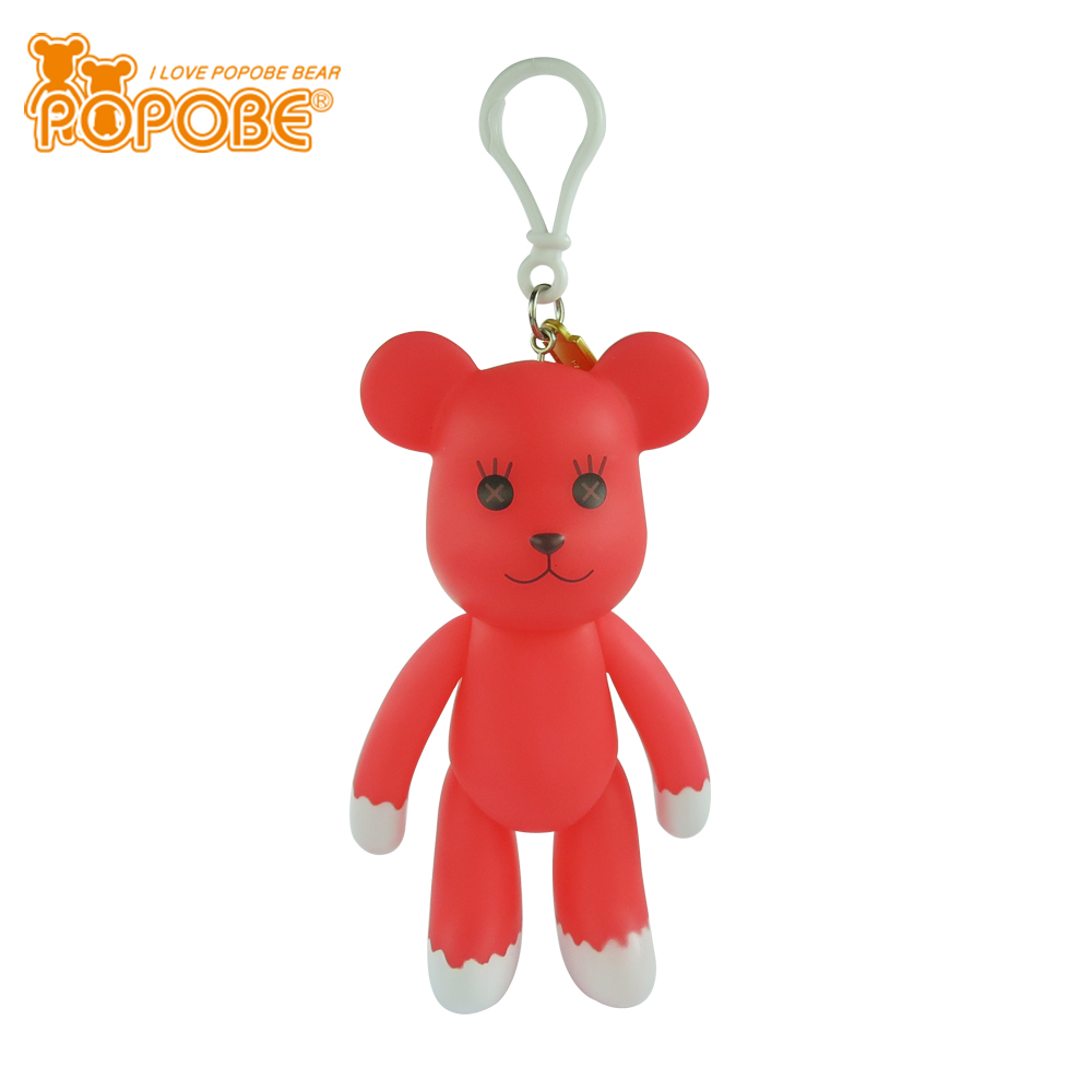 POPOBE Brand & Factory Luminous Animal Toy Key Chain For Wedding Giveaway Gift