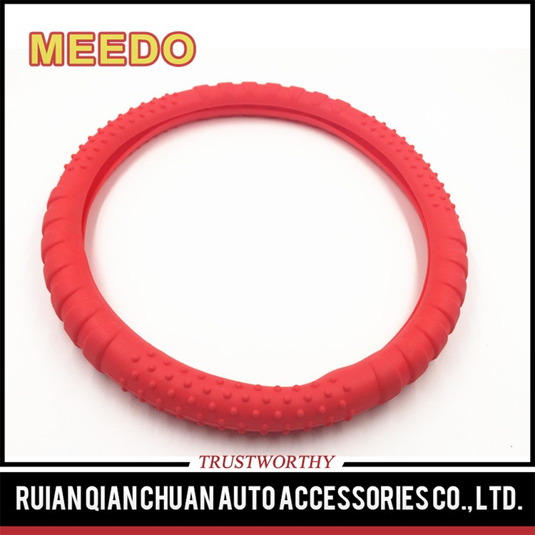 Sell well new type pink steering wheel cover