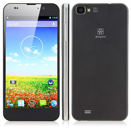 ZOPO ZP980 Smartphone MTK6589T 5.0 Inch FHD Screen Android 4.2 1GB 32GB- Black