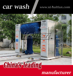 Mini-bus and truck use auto car wash machine with soft brushes