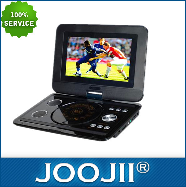 2015 NEW 9-16 inch portable dvd player with digital tv tuner
