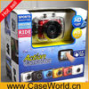 "2"" LCD Touch Waterproof Sport Camera Digital DV DVR Camcorder For Bike/Diving/Surfing"